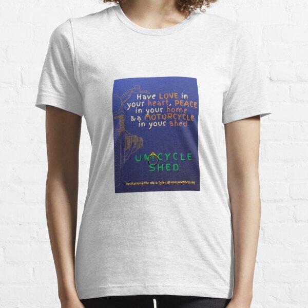 Love Heart #1 blue 1.5 Essential T-Shirt