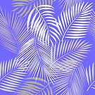 Leaves of palm tree.  by Lusy Rozumna