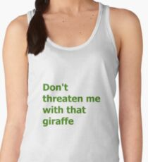 The Green Butcher's Quote Women's Tank Top