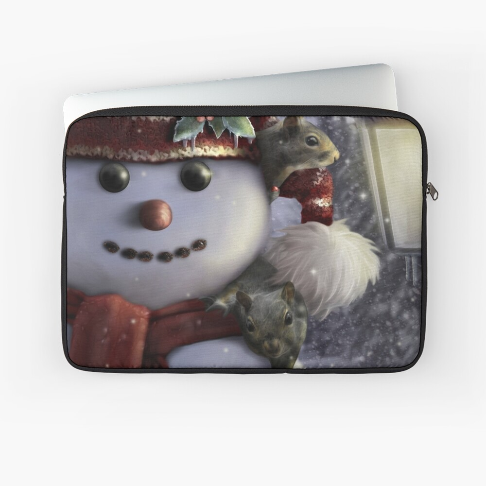 Holiday Friends Laptop Sleeve
