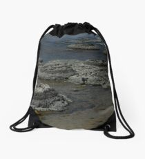 Stromatolites Drawstring Bag