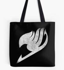 ° MANGA ° Fairy Tail B & W Logo Tote Bag