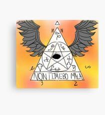 Non Timebo Mala - Supernatural Canvas Print