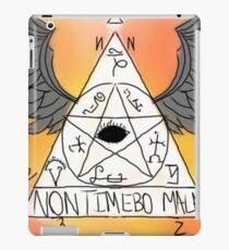 Non Timebo Mala - Supernatural iPad Case/Skin