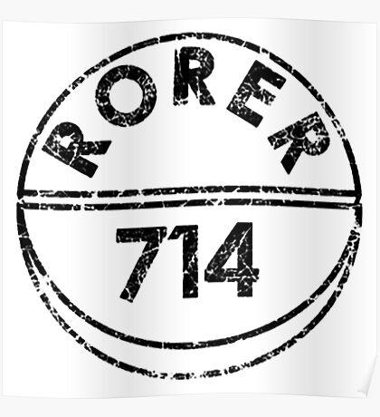 RORER 714 Poster