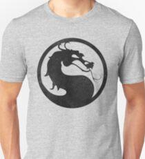 °GEEK° Mortal Kombat B&W Logo T-Shirt