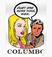 Comics Lieutenant Columbo Vintage Poster