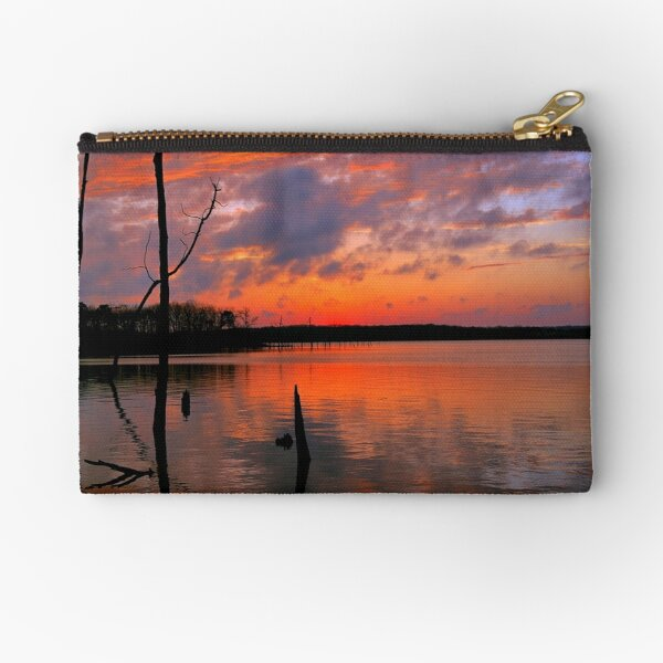Reflection of  Color Zipper Pouch