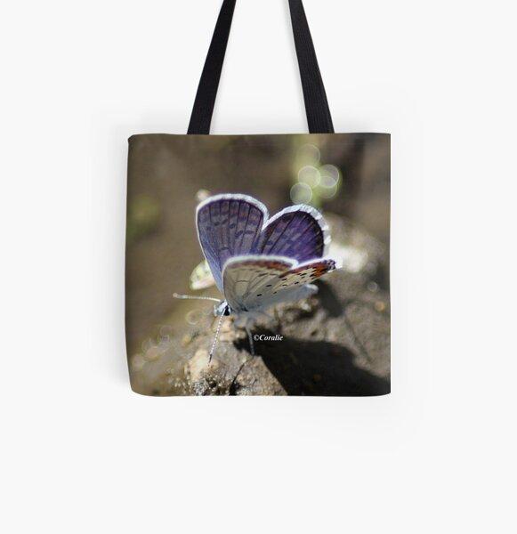Karner Blue Butterfly  All Over Print Tote Bag