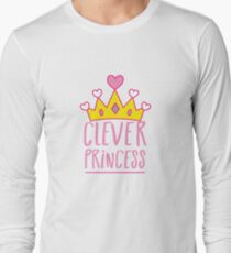 Clever princess with royal crown T-Shirt