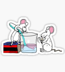 Lab Mice Sticker