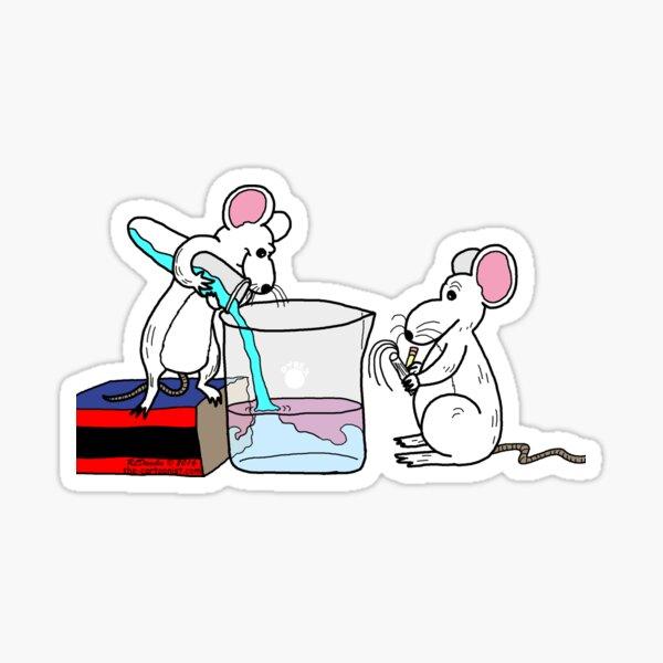 Lab Mice Sticker