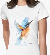 Eisvogel Aquarell Tailliertes T-Shirt