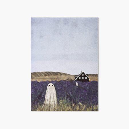 Lavender Fields Art Board Print