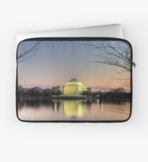 Jefferson Memorial at Dusk Laptop Sleeve
