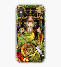 Queen of Pentacles iPhone Case