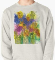Beautiful Irises Pullover Sweatshirt
