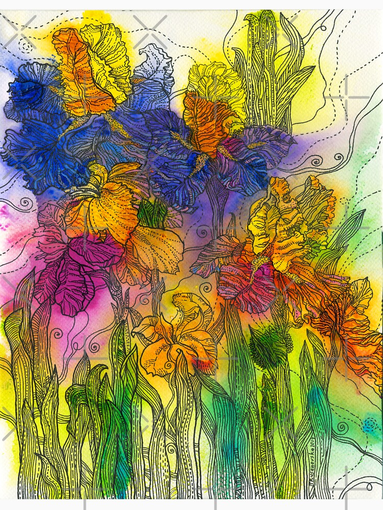 Beautiful Irises by rusanovska