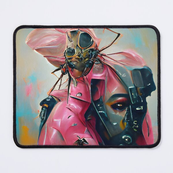 Exoplanet 011 | AI-generated classical style artwork | gan art print Mouse Pad