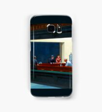 """Nighthawks"" by Edward Hopper (1942) Samsung Galaxy Case/Skin"