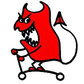 Scoot Devil Resmaster by tothebone