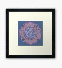 Pantone 2016 Dandelion Framed Print