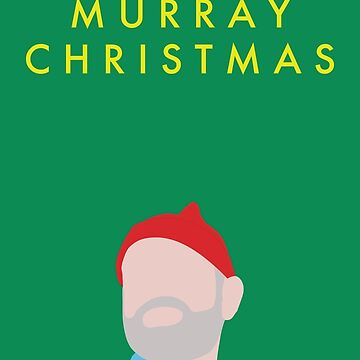 Murray Christmas Card with Bill Murray in The Life Aquatic with Steve Zissou by darthfader