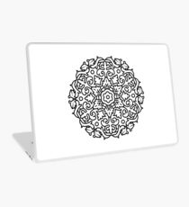 Black and white mandala original Design Laptop Skin