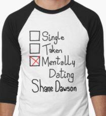 Mentally Dating Shane Dawson Men's Baseball ¾ T-Shirt