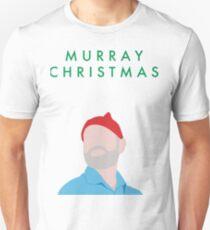 Murray Christmas Card with Bill Murray Illustration Unisex T-Shirt