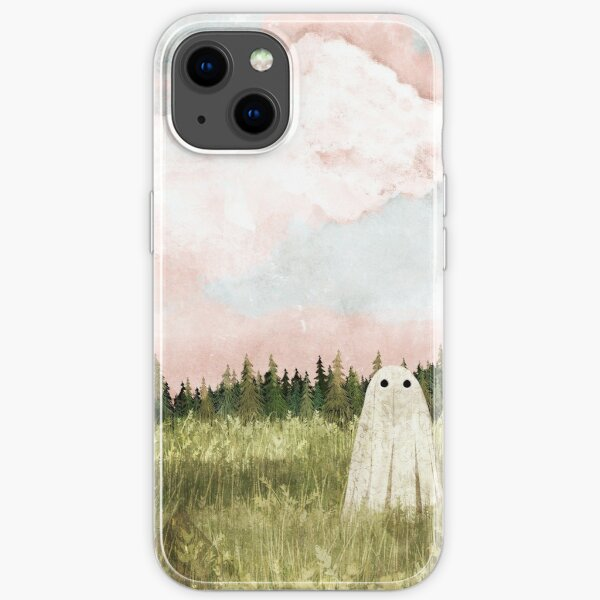 Cotton candy skies iPhone Soft Case