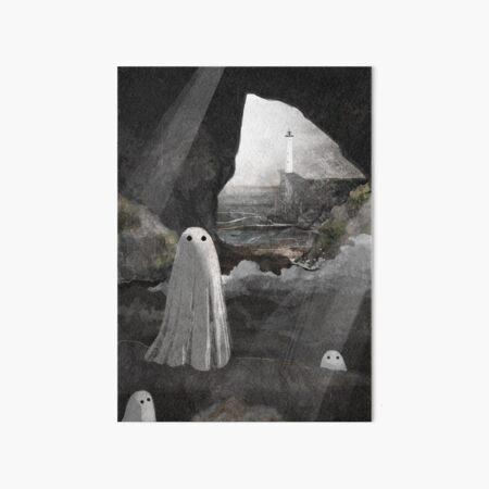 The Caves are Haunted Art Board Print