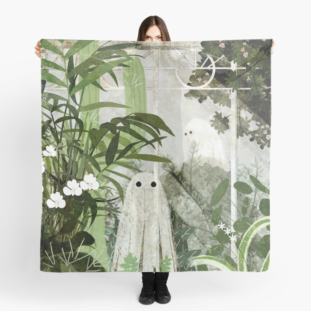 There's A Ghost in the Greenhouse Again Scarf