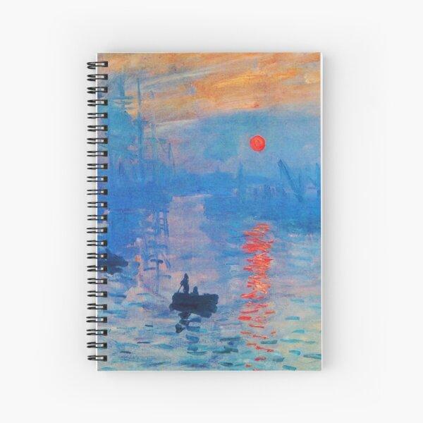 Impression, Sunrise Spiral Notebook