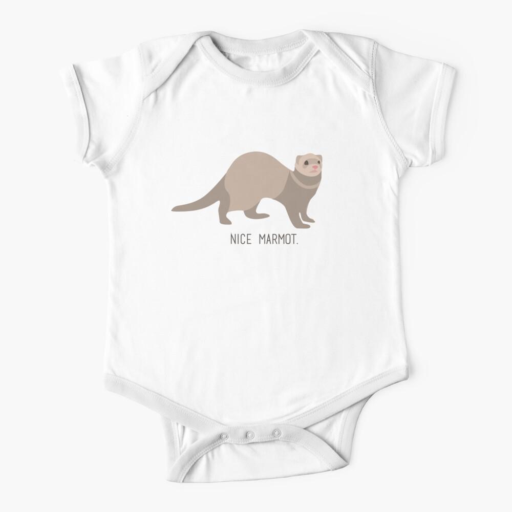 Nice Marmot - The Big Lebowski Baby One-Piece