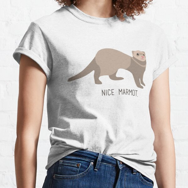 Nice Marmot - The Big Lebowski Classic T-Shirt