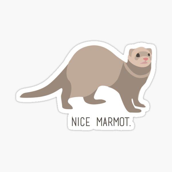 Nice Marmot - The Big Lebowski Sticker