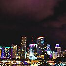 Miami City Lights Bokeh by DeniseLives