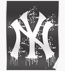 yankee splatter Poster