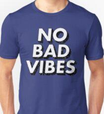 Retro No Bad Vibes Unisex T-Shirt