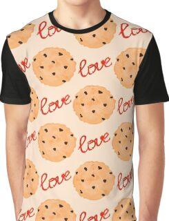 Cookies pattern. Sweet pattern Graphic T-Shirt
