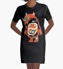You Are Who You Eat! Graphic T-Shirt Dress