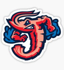 Jax Jumbo Shrimp Sticker