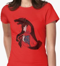 Taming of the wolf Women's Fitted T-Shirt