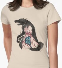 Taming of the wolf Womens Fitted T-Shirt
