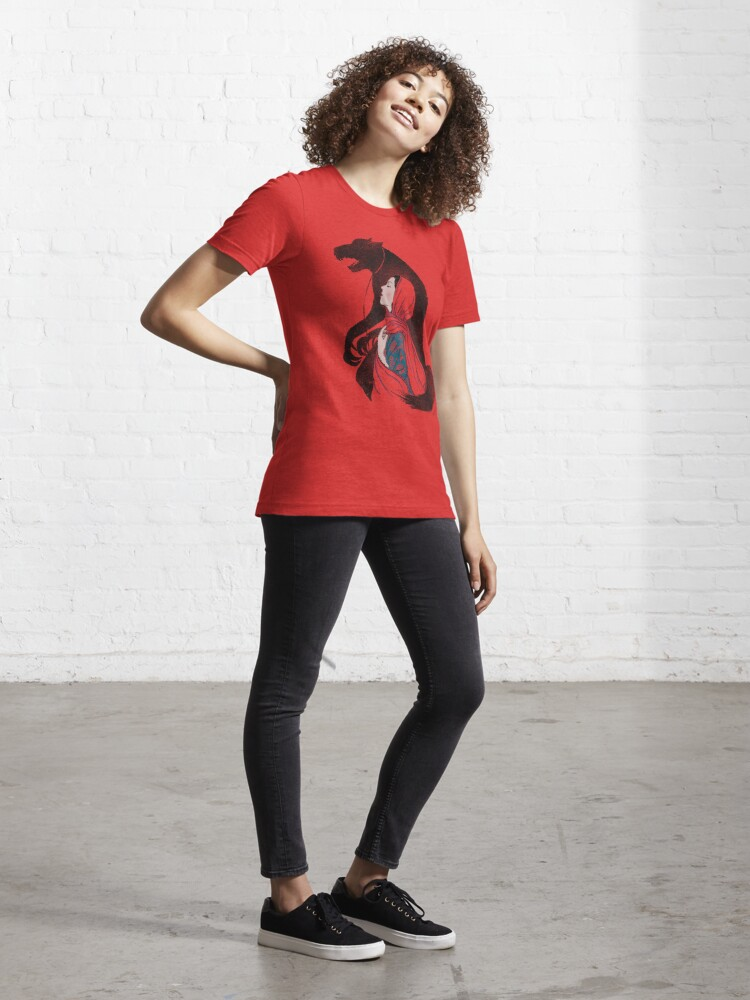 Alternate view of  Taming of the wolf Essential T-Shirt