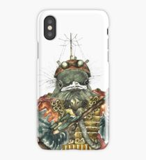 Steampunk Bird Sky Patrol iPhone Case/Skin