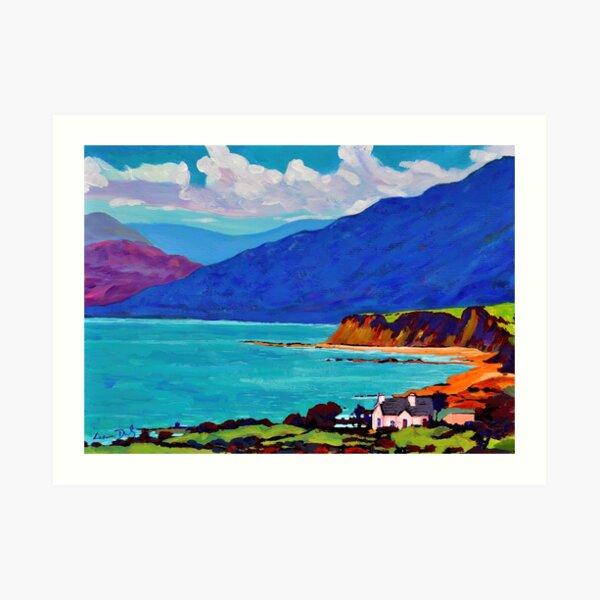 Renvyle Coast, Connemara, Ireland Art Print