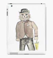 Gentleman Cat iPad Case/Skin