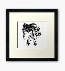 The Lion Man Framed Print